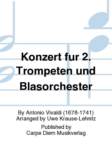 Konzert fur 2. Trompeten und Blasorchester