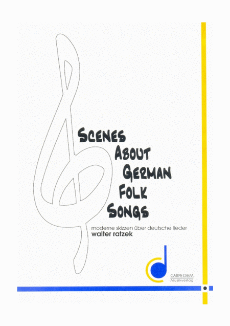 Scenes about German Folksongs