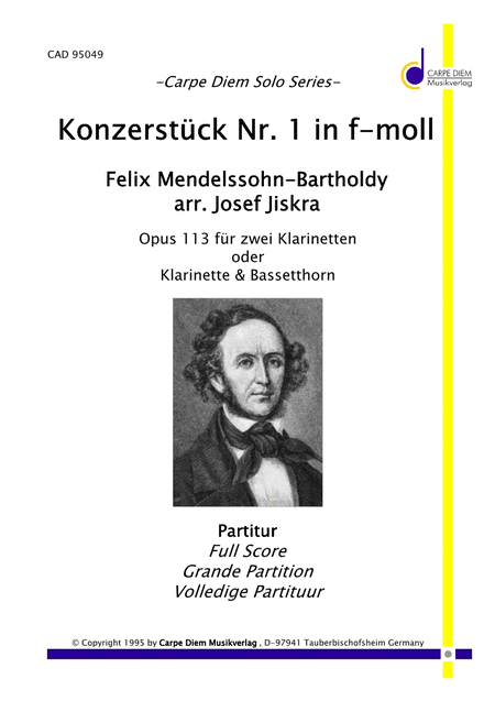 Konzertstuck Nr.1 in f-moll