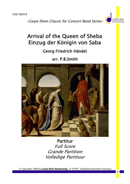 The Arrival of the Queen of Shaba