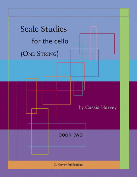 Scale Studies for the Cello (One String), Book Two