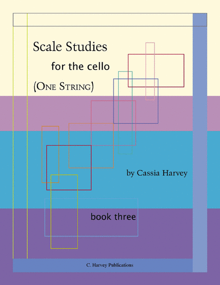 Scale Studies for the Cello (One String), Book Three