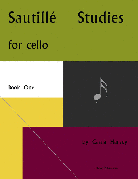 Sautille Studies for the Cello, Book One
