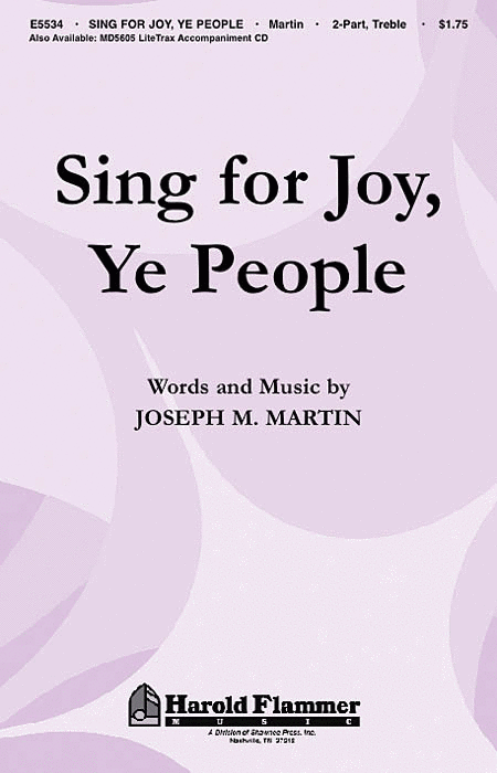 Sing for Joy, Ye People