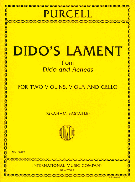 Dido's Lament from