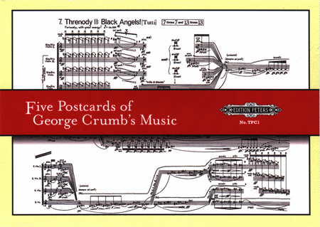 Five Postcards of George Crumb's Music