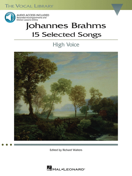 Johannes Brahms: 15 Selected Songs