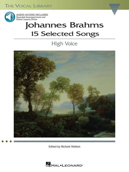 Johannes Brahms: 15 Selected Songs