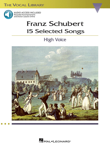 Franz Schubert - 15 Selected Songs (High Voice)