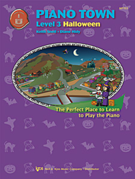 Piano Town Halloween, Level Three