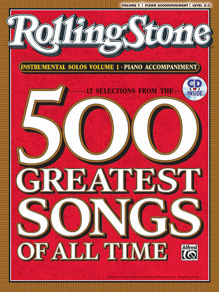 Selections from Rolling Stone Magazine's 500 Greatest Songs of All Time (Instrumental Solos), Volume 1