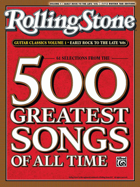 Selections from Rolling Stone Magazine's 500 Greatest Songs of All Time