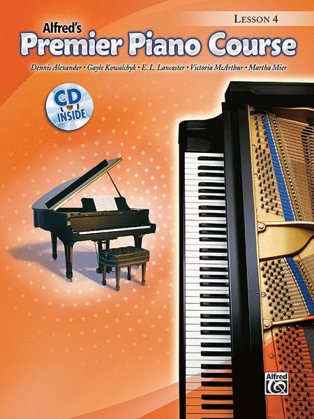 Premier Piano Course Lesson Book, Book 4