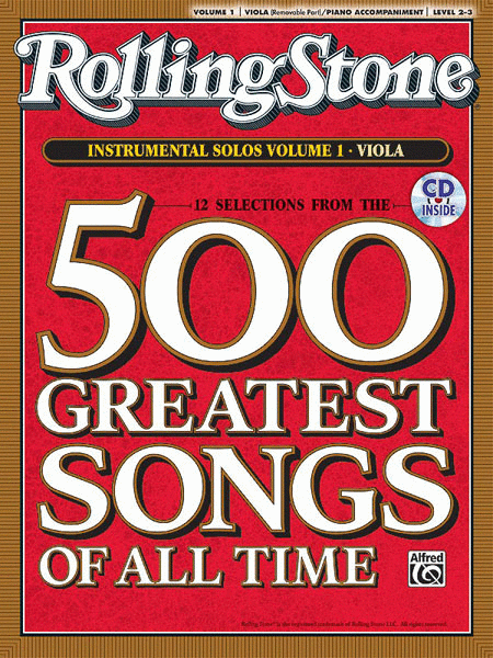 Selections from Rolling Stone Magazine's 500 Greatest Songs of All Time (Instrumental Solos for Strings), Volume 1