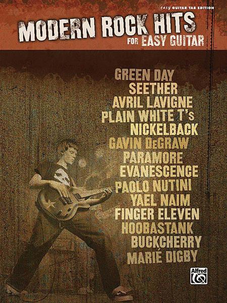 Modern Rock Hits for Easy Guitar