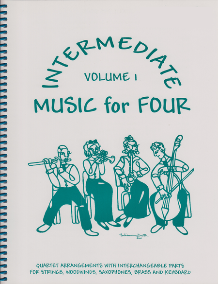 Intermediate Music for Four, Volume 1, Part 3 - Tenor Saxophone