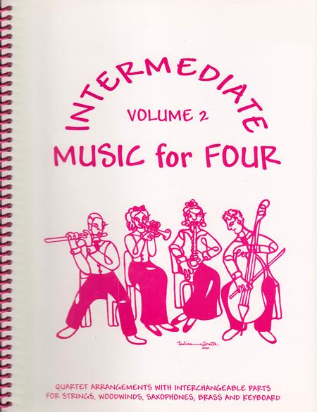 Intermediate Music for Four, Volume 2 - Score