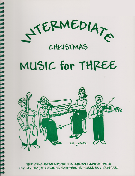 Intermediate Music for Three, Christmas - Keyboard/Guitar