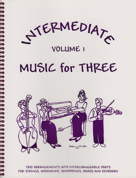 Intermediate Music for Three, Volume 1 - Keyboard/Guitar