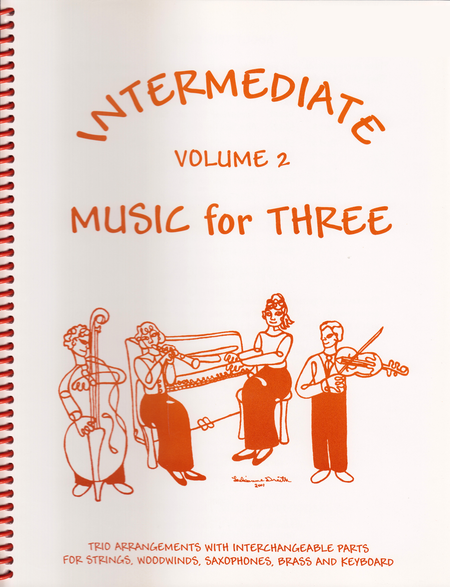 Intermediate Music for Three, Volume 2 - Keyboard/Guitar
