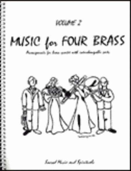 Music for Four Brass, Volume 2, Part 3 - Trombone