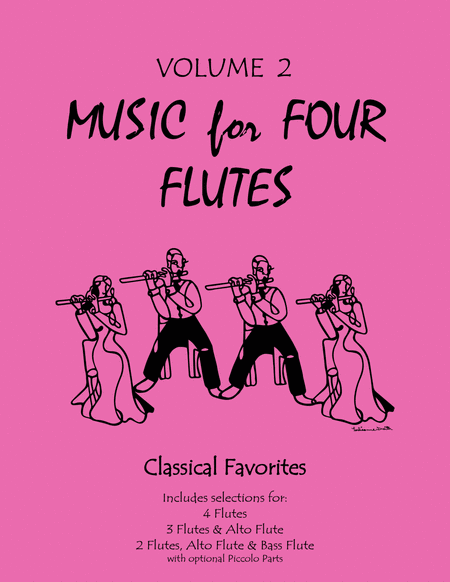 Music for Four Flutes, Volume 2 - Flute Quartets