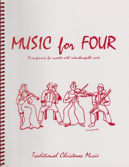 Music for Four, Christmas, Part 2 - Flute/Oboe/Violin