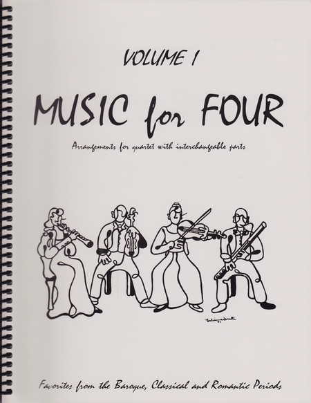 Music for Four, Volume 1, Part 2 -Flute/Oboe/Violin