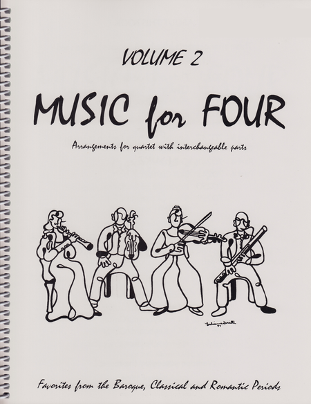 Music for Four, Volume 2 - Score