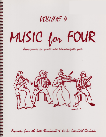Music for Four, Volume 4, Part 1 - Flute/Oboe/Violin