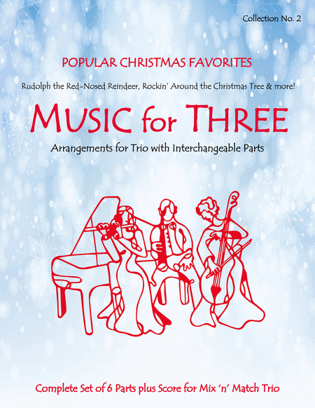 Music for Three, Collection #2 - Popular Christmas Favorites