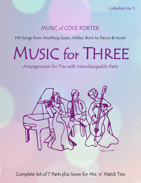 Music for Three, Collection #5 - Music of Cole Porter