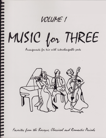 Music for Three, Volume 1, Part 2 - Flute/Oboe/Violin