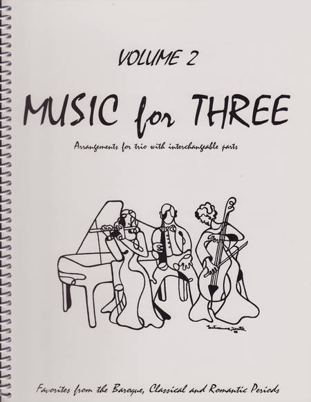 Music for Three, Volume 2, Part 1 - Clarinet