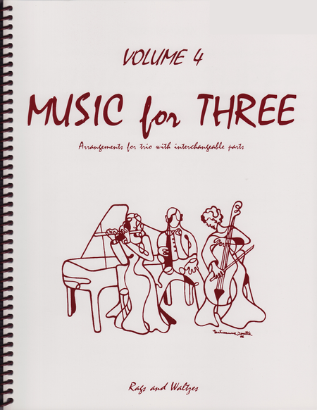 Music for Three, Volume 4 - Keyboard/Guitar