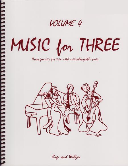 Music for Three, Volume 4, Part 2 - Flute/Oboe/Violin