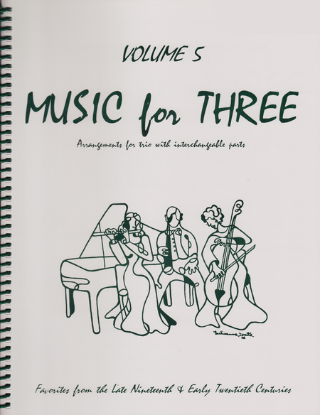 Music for Three, Volume 5, Part 1 - Flute/Oboe/Violin
