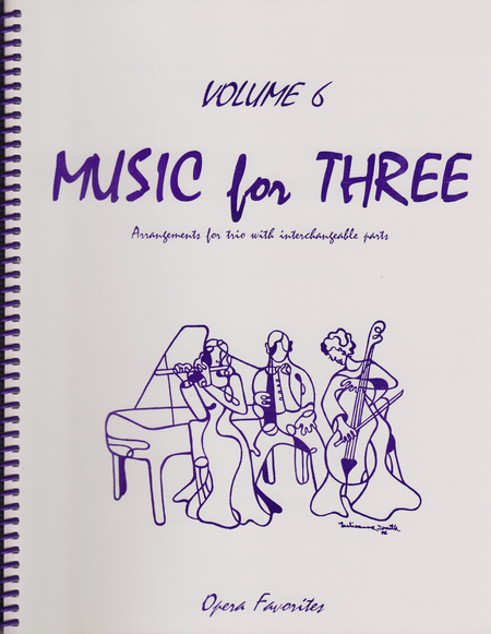 Music for Three, Volume 6 - Keyboard/Guitar