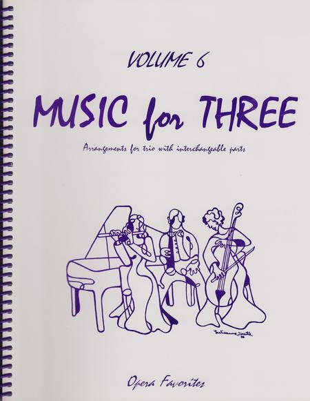 Music for Three, Volume 6, Part 1 - Clarinet