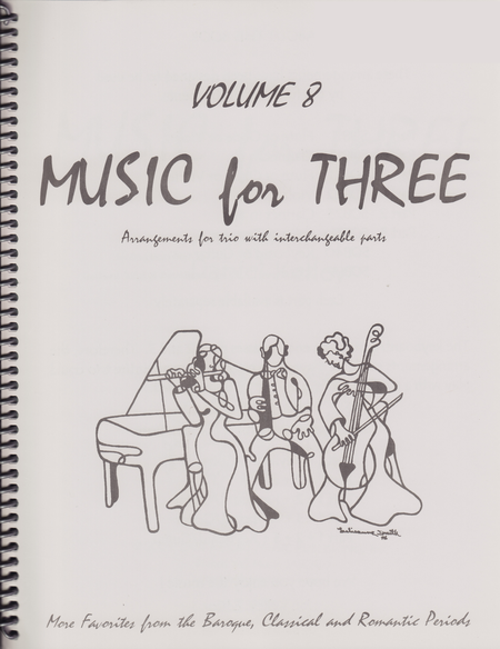 Music for Three, Volume 8, Part 1 - Flute/Oboe/Violin