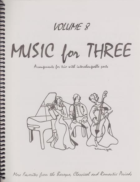 Music for Three, Volume 8, Part 2 - Flute/Oboe/Violin