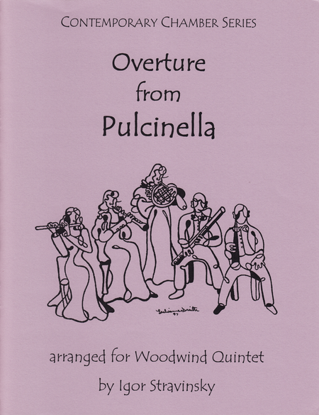 Overture from Pulcinella for Woodwind Quintet