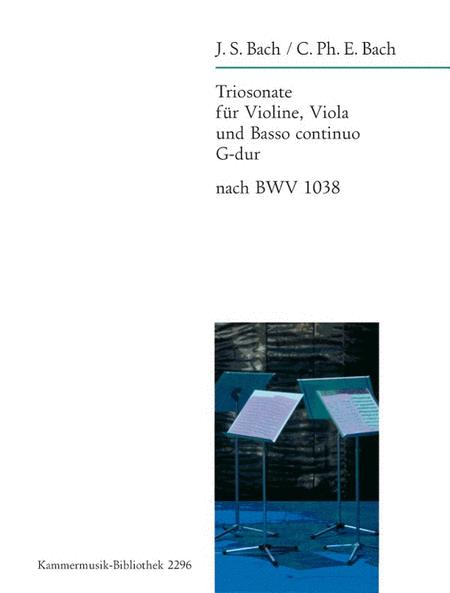 Triosonate G-dur nach BWV 1038 (Rekonstruktion)
