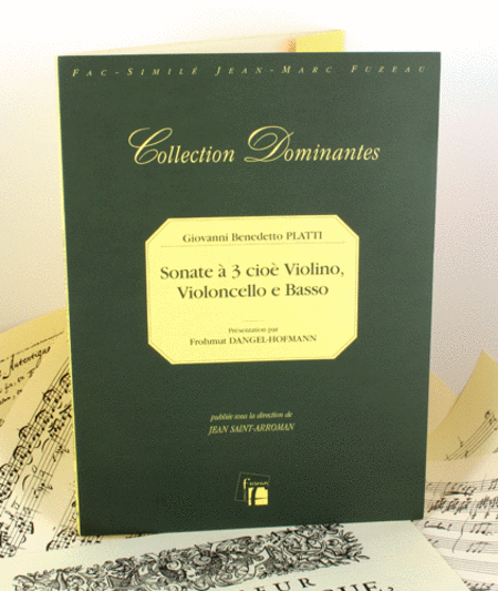 Sonate a 3 cioe Violino, Violoncello e basso (c. 1724/9)