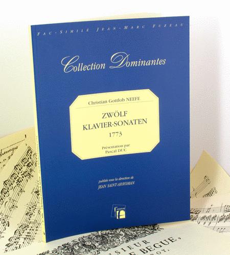 Zwolf Klavier Sonaten. Leipzig, 1773