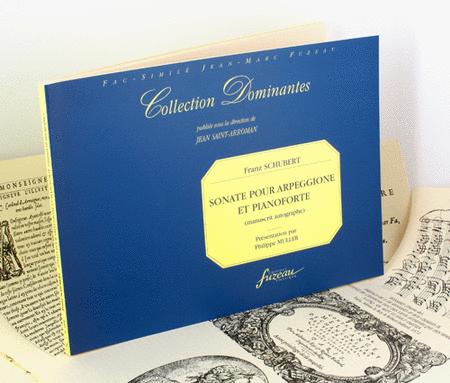 Sonata for arpeggione and fortepiano. Autograph MS