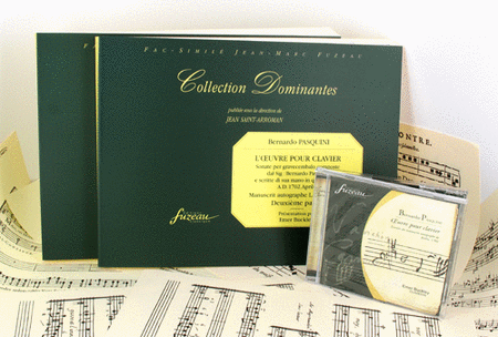 Keyboard works - Parts I & 2 + CD. Autograph MS, 1702.