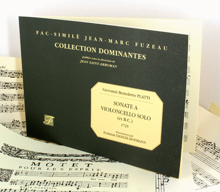 Sonata for solo cello (and continuo bass). MS, 1725