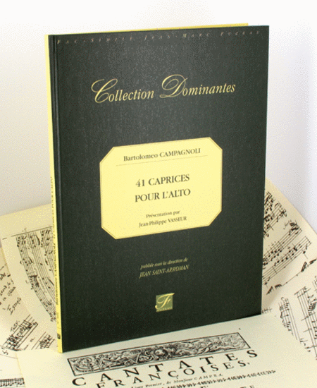 41 caprices for viola. 1869
