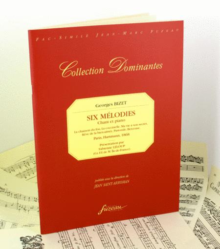 Six Melodies. Paris, Hartmann, 1868